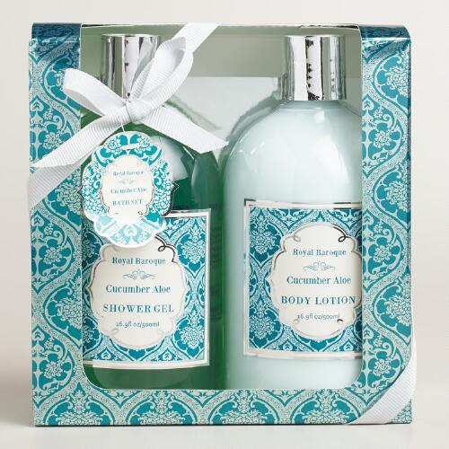 Cucumber Aloe 2-Piece Bath and Body Gift Set