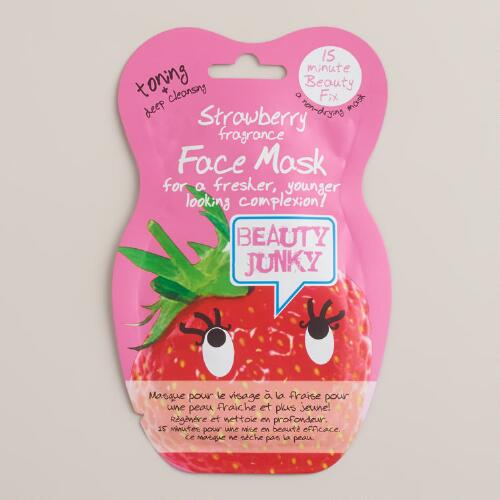 Strawberry Toning and Cleansing Face Mask