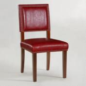 Red Jace Dining Chairs, Set of 2