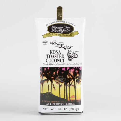Hawaiian Isle Toasted Coconut Kona Coffee