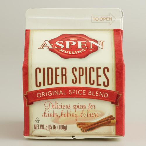 Aspen Original Cider Spice, Set of 6
