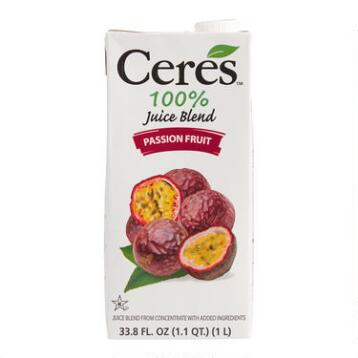 Ceres Passion Fruit Juice, Set of 12