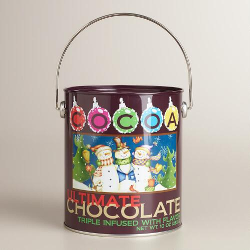 Holiday Cocoa Paint Can