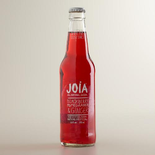 Joia Blackberry Pomegranate Ginger Soda