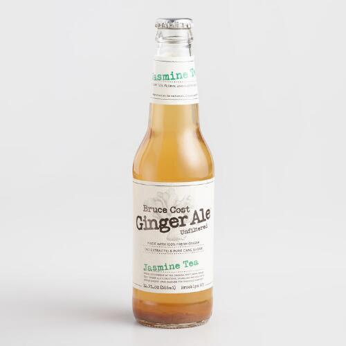 Fresh Ginger Ale-Jasmine Tea Soda