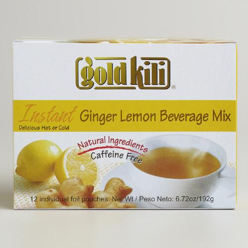 Gold Kili Ginger  Lemon Instant Tea