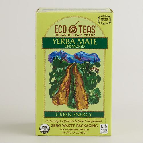 Eco Teas Yerba Mate Tea, 24-Count