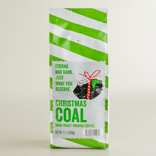 Christmas Coal Coffee, Set of 6