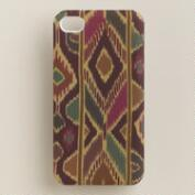 Purple Ikat iPhone 4 Case