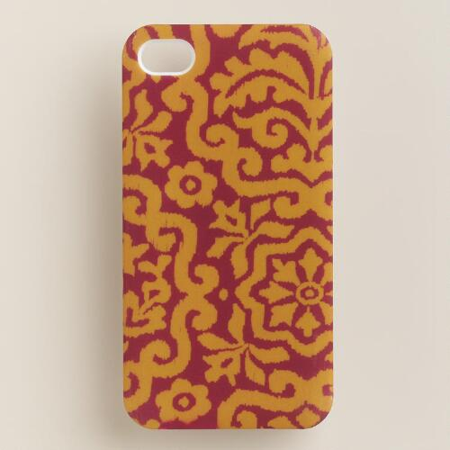 Amber Mosaic iPhone 4 Case