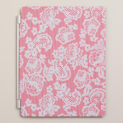 Red Lace iPad Cover