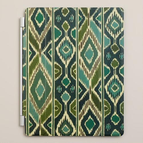 Blue Ikat iPad Cover