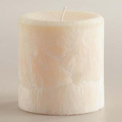 "3"" Vanilla Bean Pillar Candle"