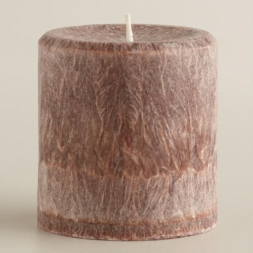 "3"" x 3"" Cinnamon Stick Pillar Candle"