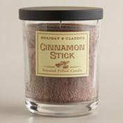 Cinnamon Stick Filled Jar Candle