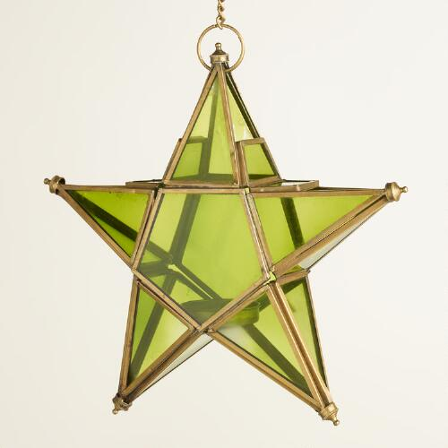 Small Green Star Lantern