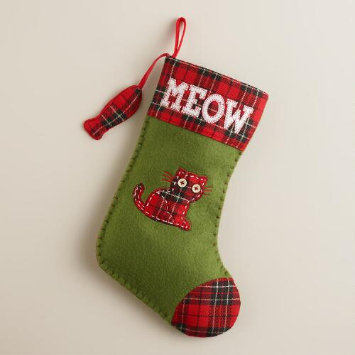 Meow Pet Stocking