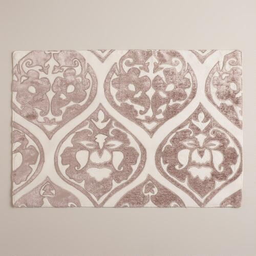Velour Baroque Ogee Placemats, Set of 4