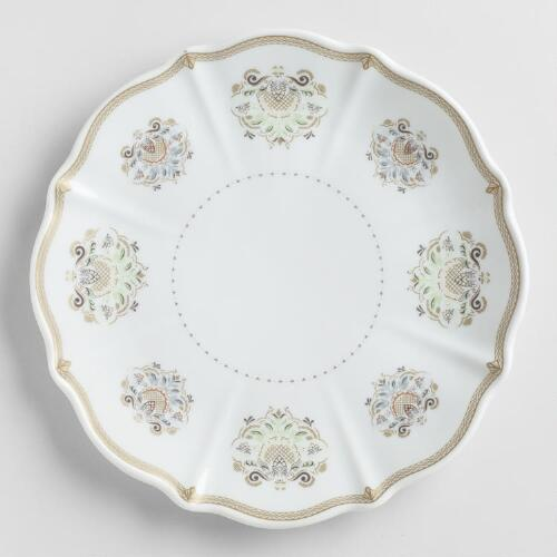 Downton Abbey Plates, Set of 4