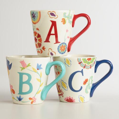 Monogram Mug Collection