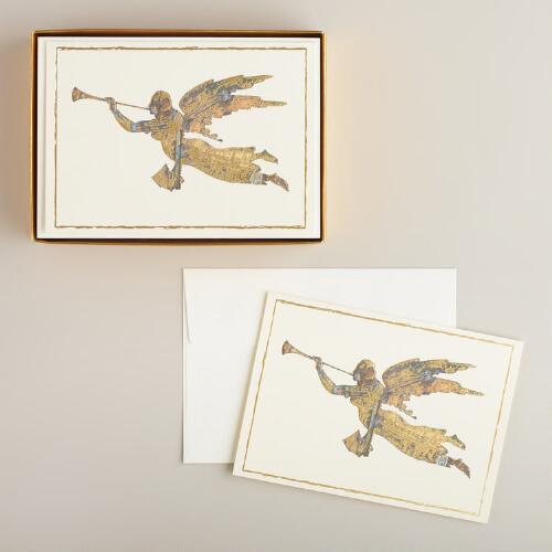 Gabriel Weathervane Boxed Holiday Cards, Set of 15