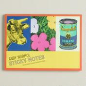 Large Andy Warhol Sticky Notes