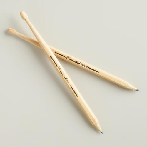 Drumstick Pencils, 2-Pack