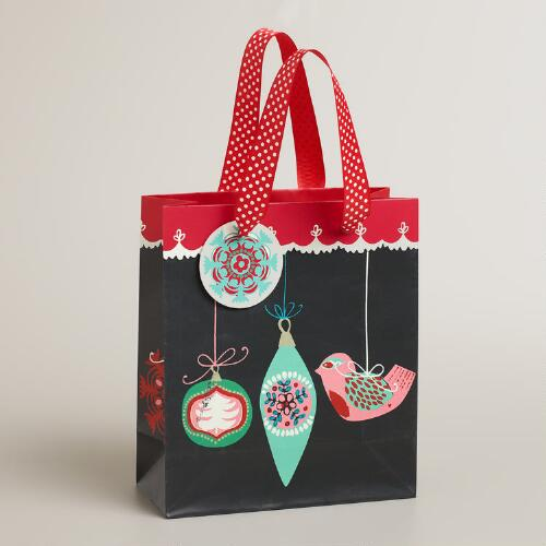 Small Nordic Ornaments Gift Bag