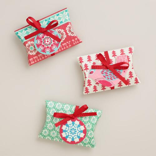 Nordic Gift Pouches, 3-Pack