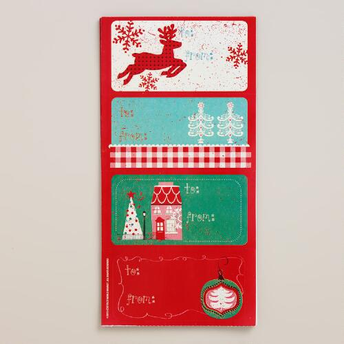 Nordic Gift Labels, 24-Count