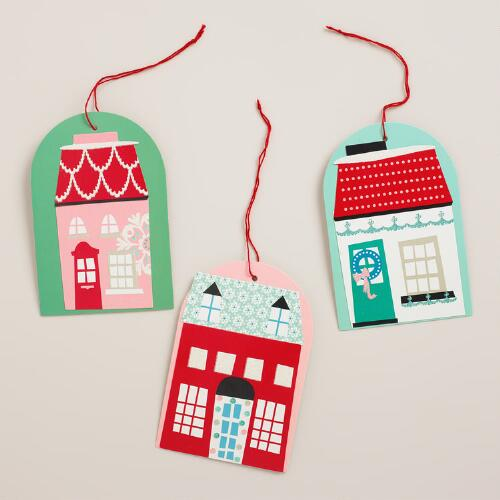 Nordic Gift Tags, Set of 6
