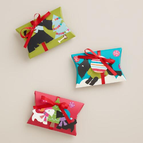 Scottie Gift Pouches, 3-Pack