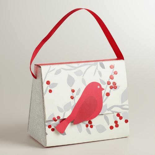 Snow Birds Candy Purse