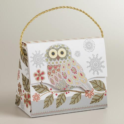 Snowy Owl Candy Purse