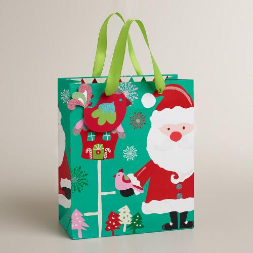 Medium Sweet Santa Gift Bag