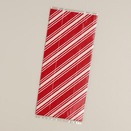 Sweet Holidays Cellophane Bags, 8-Pack