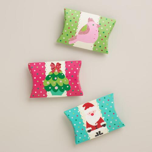 Sweet Holidays Gift Pouches, 3-Pack