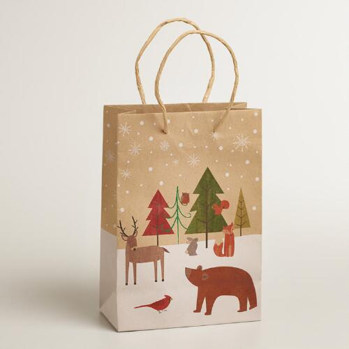 Small Woodland Animals Gift Bag