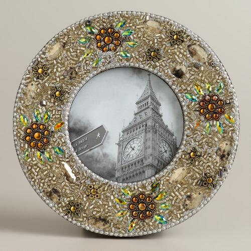 Silver Round Lac Molly Frame