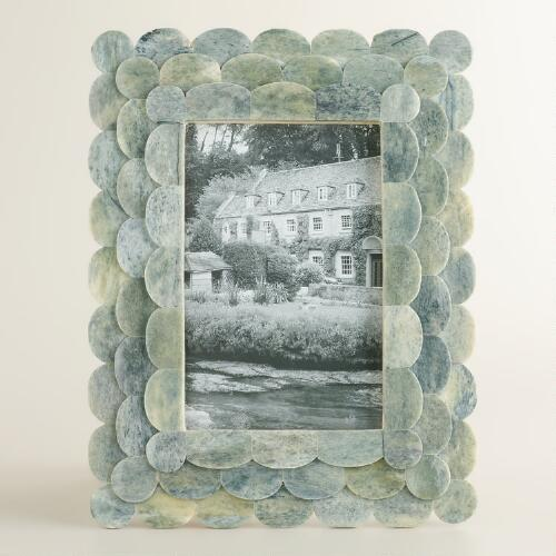 Gray Venya Scalloped Frame