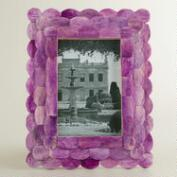Purple Venya Scalloped Frame