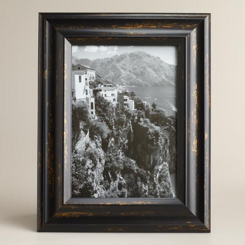 Black and Gold Positano Frame
