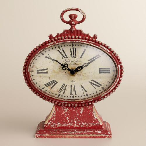 Red Dory Clock