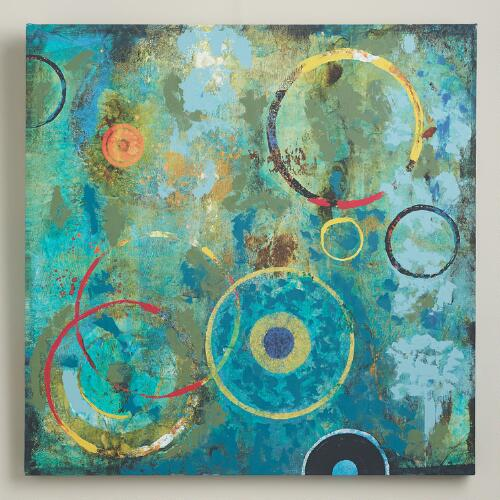 """Circled by Color I"" by John Douglas"