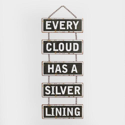 """Every Cloud"" Wall Decor"