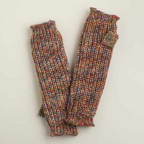Warm Marled Arm Warmers