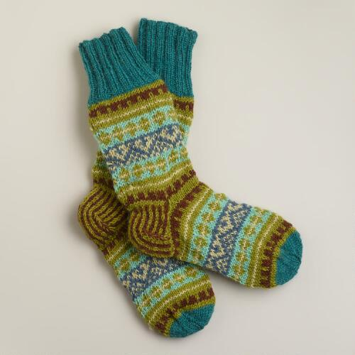 Cool Fairisle Socks