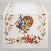 Mr. Turkey Table Runner