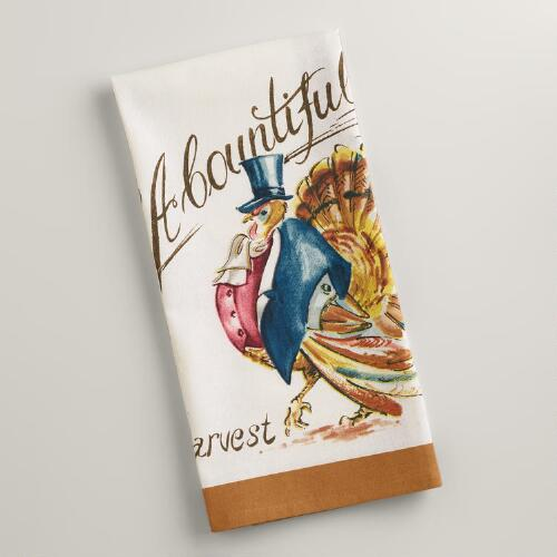 Turkey Kitchen Towel