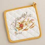 Turkey Collection Potholder